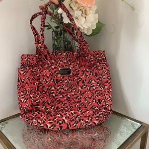 Marc Jacobs animal print large shoulder bag